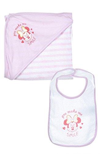 Disney Baby Minnie Maus Baby Lätzchen & Decke (Disney Baby Minnie Maus)