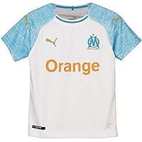 Puma Olympique de Marseille Home Shirt Replica SS Kids Maillots Enfant 8e9622e4ad8f