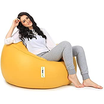 Can Mudda Bean Bag Chair Without Beans Yellow XL