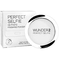 WUNDER2 PERFECT SELFIE Poudre Translucide - Poudre de finition invisible Photo HD – Poudre Matifiante Translucide