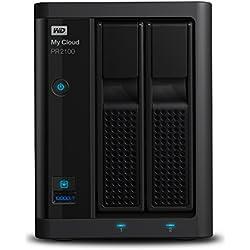 Western Digital My Cloud Pro Series PR2100 - Almacenamiento en red NAS de 8 TB y servidor multimedia con transcodificación