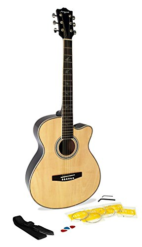 Martin Smith W-401E-N - Electro-acoustic guitar, natural color