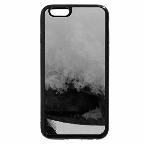 iPhone 6S Plus Case, iPhone 6 Plus Case (Black & White) - Antique- Farm Equipment