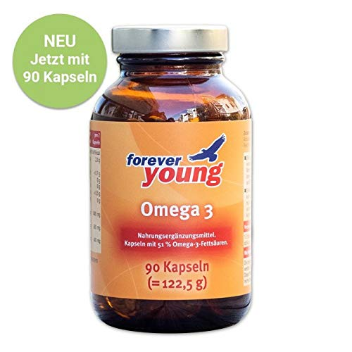 Forever Young Omega 3, 90 Kapsel - Neutral
