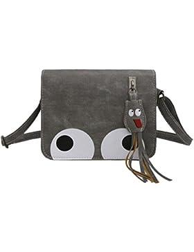 BZLine® Frauen Anhänger Leder Crossbody Tasche Handtasche Münztasche taschen