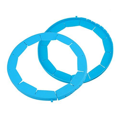 réglable croûte à tarte Shield – sans BPA Moule à Tarte en Silicone Souple et accessoire – Protecteurs de pie (26,7 - 33 cm), Silicone, 2PCS