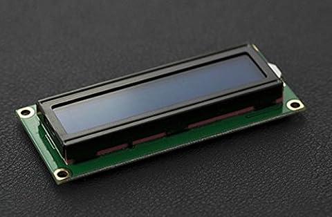 Basic 16x 2caractères LCD–Blanc sur Bleu 5V