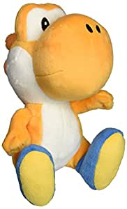 Little Buddy Super Mario Bros. 15,2 cm Orange Yoshi en peluche en peluche