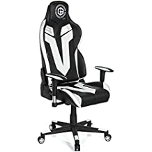 hjh OFFICE 734130silla de Gaming/Silla de oficina gamebreaker VR 12sintética negro/blanco