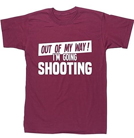 HippoWarehouse - T-shirt - Homme - rouge - XX-Large
