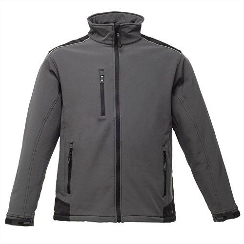 Regatta Sandstorm Workwear Softshell Black/Black
