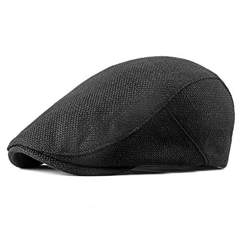 IKulilky Beret Cap,Duckbill Hat Beret Hat Retro Casual