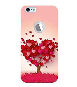 99Sublimation heart tree 3D Hard Polycarbonate Back Case Cover for Apple iPhone 6S
