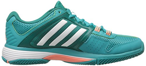 Adidas Performance Barricade Verein Trainingsschuh, Schock grün / wei� / Ausrüstung Grün, 5 M Us Shock Green/White/Equipment Green