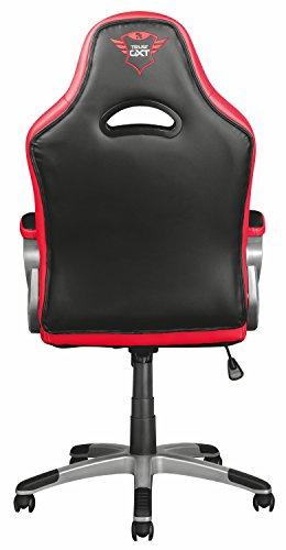 Trust Ryon GXT 705 Chaise Bureau Gamer Noir Rouge