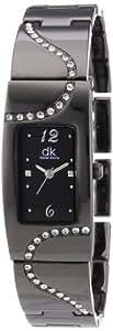 dk daniel khone Damen-Armbanduhr Woman Analog Quarz Alloy DKLA-90252-22M