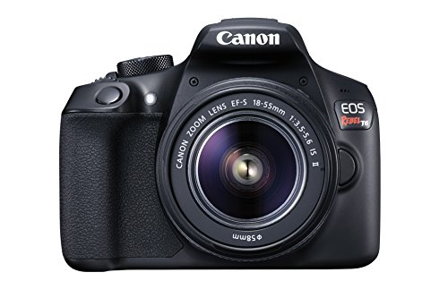 Canon Eos Rebel T6 18mp Digital Slr Camera Kit With Ef-s 18-55mm F/3.5-5.6 Is Ii Lens (black)
