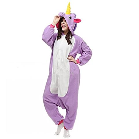 Costumes Femmes Unicorn - Jysport Licorne Pyjama Kigurumi Unisexe Animal Polaire