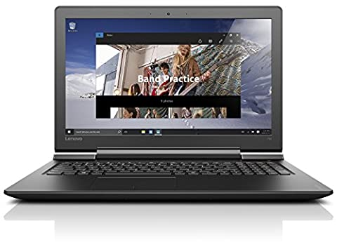 Lenovo ideapad 700 39,62cm (15,6 Zoll FHD IPS Anti-Glare) Multimedia Notebook (Intel Core i7-6700HQ Quad-Core, 8GB RAM, 1TB HDD, 128GB SSD, Nvidia Geforce GTX950, DVD-Brenner, Windows 10)