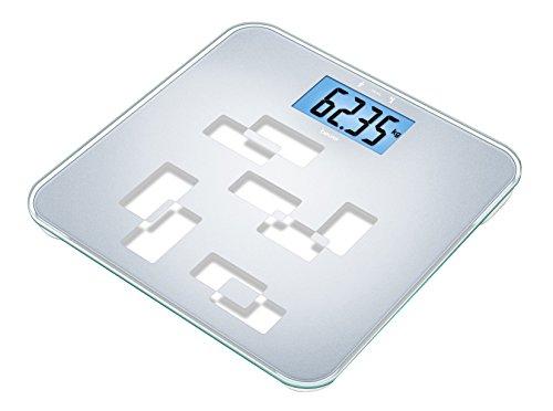 Beurer GS 420 tara Universal-Glaswaage (150 kg Tragkraft mit 50 g Einteilung, Tarafunktion zur Gewichtsermittlung von Baby, Tier, Gepäck usw.)