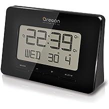 Oregon Scientific RM938 Orologio Sveglia Radiocontrollato, Plastica,