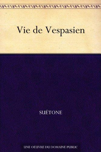 Couverture du livre Vie de Vespasien