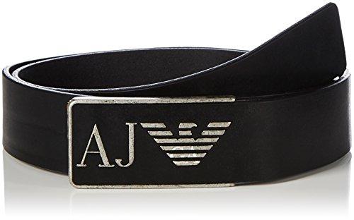 Armani Jeans 931504CC881, Cintura Uomo, Black (Nero 00020), L