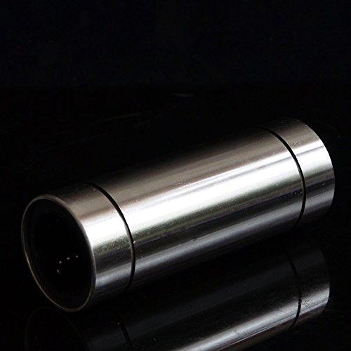 4x LM8LUU 8mm Bille Linéaire Coussinet Douille à Billes Pour l'imprimante Fracture CNC Prusa 3D