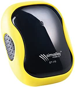 simvalley MOBILE GPS-GSM-Tracker GT-170 V.2 - SMS-Ortung & Geofencing