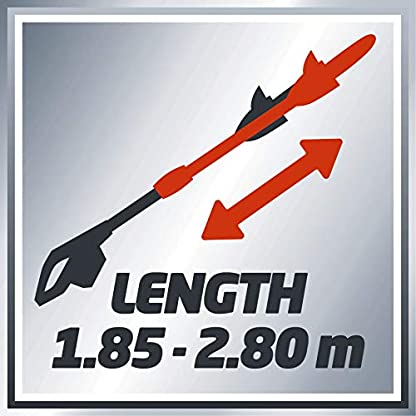 Einhell Expert GE-EC 750 T – Motosierra telescópica (750W, longitud de corte 180 mm, velocidad de corte 11 m/s, espada y cadena de calidad OREGON) (ref.4501210)