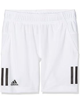 adidas B Club Pantalón Tenis, Niños, Blanco / Negro, 152
