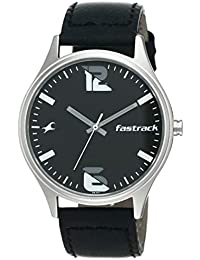 Fastrack Analog Black Dial Men's Watch-3229SL02