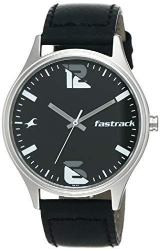 Fastrack Analog Black Dial Men's Watch-3229SL02