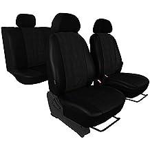 ZentimeX Z738362 Sitzbez/üge Vordersitze Kunstleder grau Airbag-Kompatibel