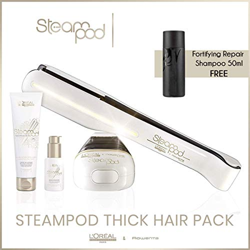 Pack Steampod Cheveux Epais + Shampooing Réparateur Fortifiant 50ml offert