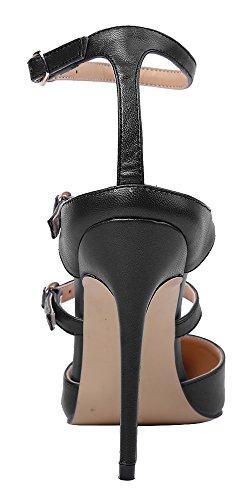 Guoar - Scarpe chiuse Donna Nero (nero)