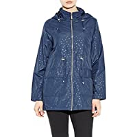 CHOCOLATE PICKLE New Womens Mermaid Lightweight Polka Dot Hooded Showerproof Mac Raincoats Jackets 8-16