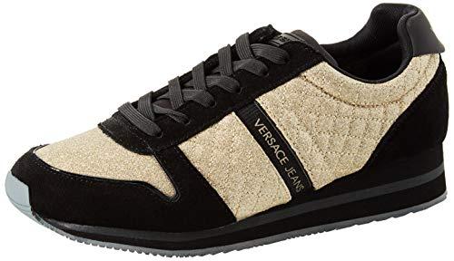 Versace Eu Scarpe De Gimnasia Jeans E90136 Para DonnaZapatillas MujerDoradooro yv7gmIYbf6