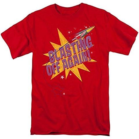 Astro Pop-Blast Off-Maglietta da
