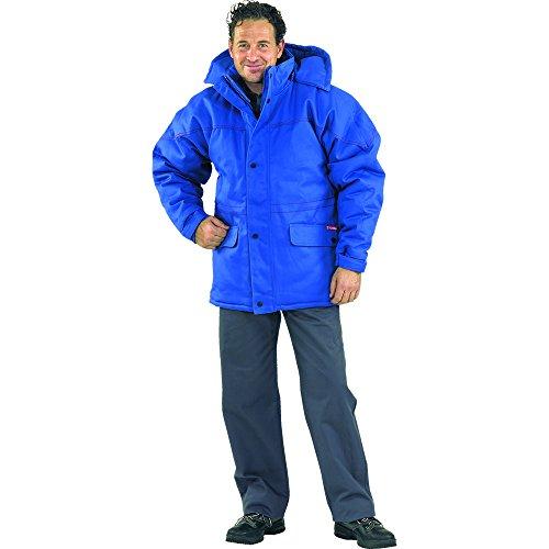 Planam Winterjacke Hitze-/Schweißerschutz, Größe L, kornblau, 1720052 kornblau