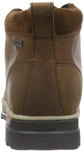 Clarks - Ripwayhill Gtx, Stivali Uomo Marrone (Tan Leather)