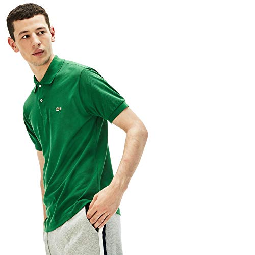Orange-weiß Gestreiftes Hemd (Lacoste L1212 Herren Polo Shirt Kurzarm,Männer Polo-Hemd,2 Knopf,Regular Fit,Summer(APF),XXXX-Large (9))