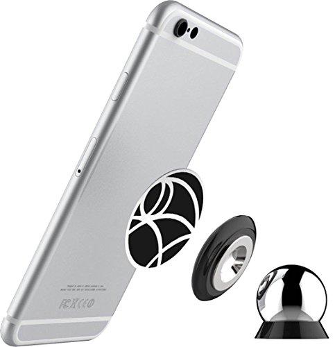 LINFON Universal Magnetische Autohalterung Für jedes Smart Handy Ultraslim Magnet Handy Halterung Armaturenbrett Halterung Universal 360 ° Drehbar KFZ-Halterung Für Jedes Handy Chmas Geschenk Mini Magnetic Cell