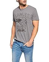 ESPRIT Men's Plain Short Sleeve T-Shirt