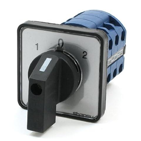 Ui660V Ith20a 3triphasé de position verrouillage rotatif commutateur