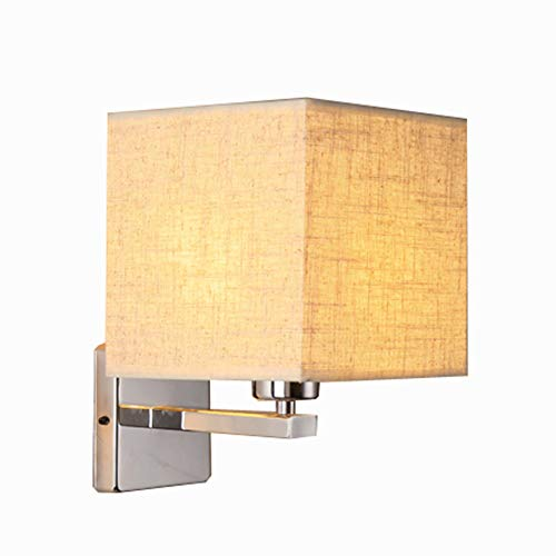 SUNA LED Applique Lampe De Chevet Lampe De Couloir Couloir Tissu Minimaliste Moderne