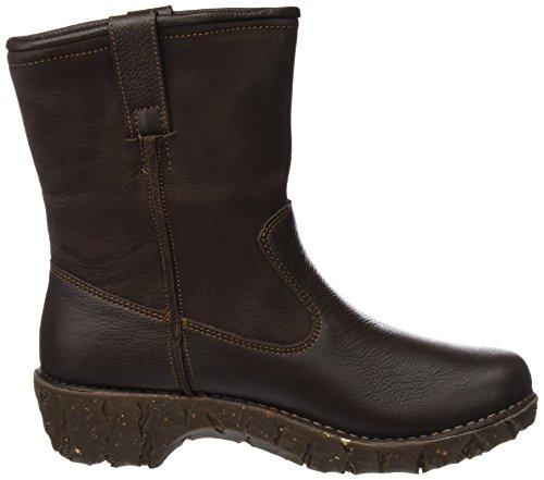 El Naturalista Damen Ng53 Soft Grain-Pleasant Yggdrasil Kurzschaft Stiefel Braun (Brown)