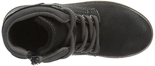 Supremo 1640505, Bottes courtes avec doublure chaude garçon Noir - Noir