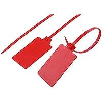 swiftpak 3650nummeriert Sicherheit Kabelbinder, Nylon, 200mm L x 4,8mm W (10Stück)
