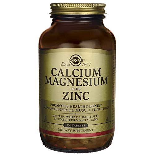 Solgar  Calcium Magnesium Plus Zinc -  Envase de 250